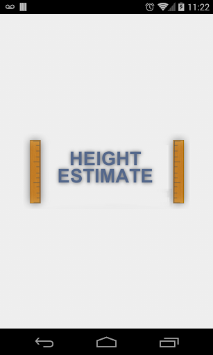 Height Estimate