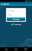 Screenshot of Tu Agenda Movistar