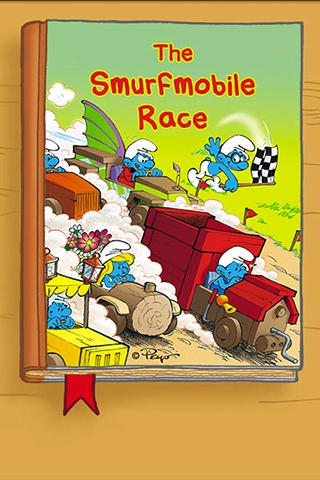 The Smurfs - Smurfmobile Race - screenshot
