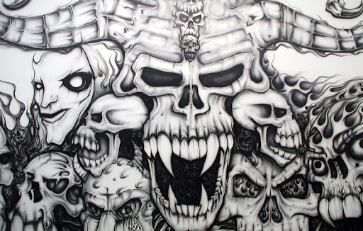 Graffiti Skull Wallpapers HD