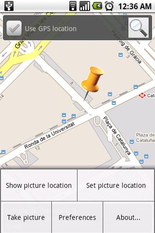 PhotoGeolocator- screenshot