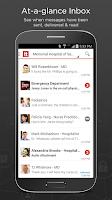 Screenshot of TigerText Secure Messenger App