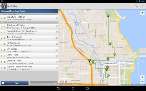 Route4Me Route Planner - screenshot thumbnail