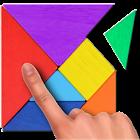 Tangram puzle icon