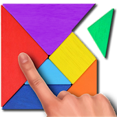 Tangram puzzle for kids