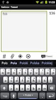 Screenshot of Polish Keyboard Plugin
