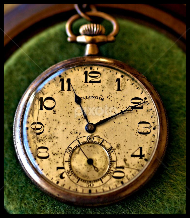 Grandpa's Watch by Becky McGuire - Artistic Objects Antiques ( history, mcguire, pocket, tvlgoddess, vintage, family, watch, keepsake, retro, object, antique, memory, becky,  )