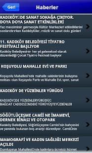 Kadıköy Belediyesi- ekran görüntüsü küçük resmi