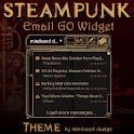 Steampunk Email GO Widget icon