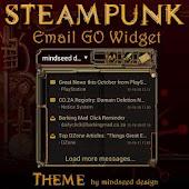Steampunk Email GO Widget
