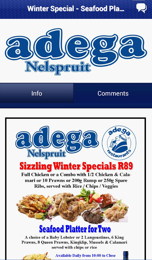 Adega Nelspruit - screenshot