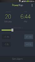 Screenshot of PowerNap