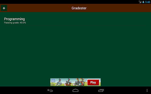 Gradester - screenshot thumbnail