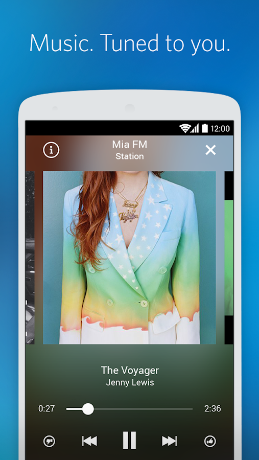 Rdio Music- screenshot