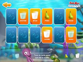 Screenshot of Oceanix. Cuentos en Inglés 2