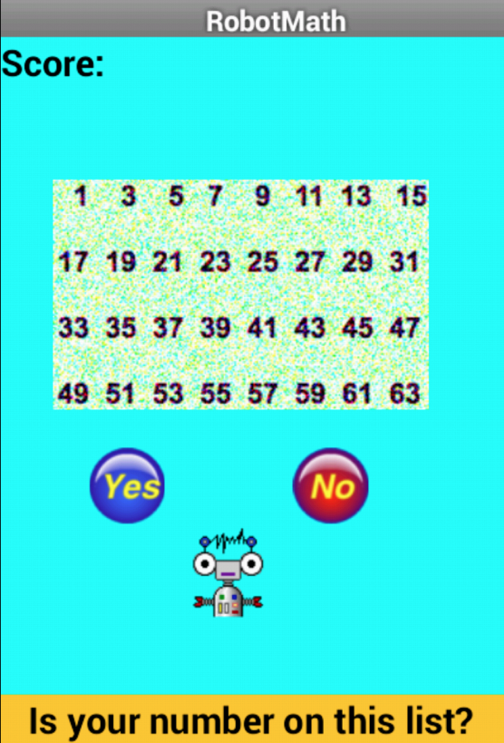 Robot Math- screenshot