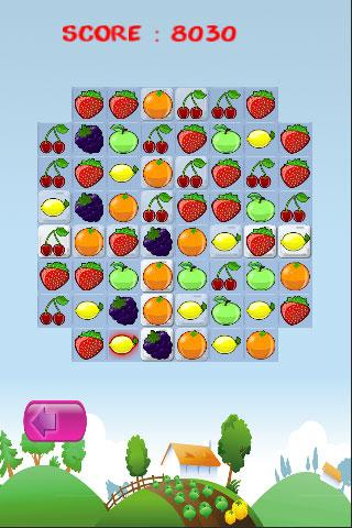 Fruit Match Puzzle App - screenshot