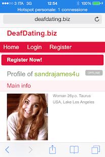 deaf dating site