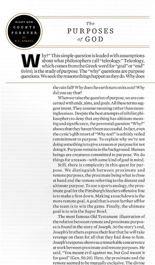 Tabletalk Magazine - screenshot