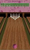 Screenshot of 3D Bowling