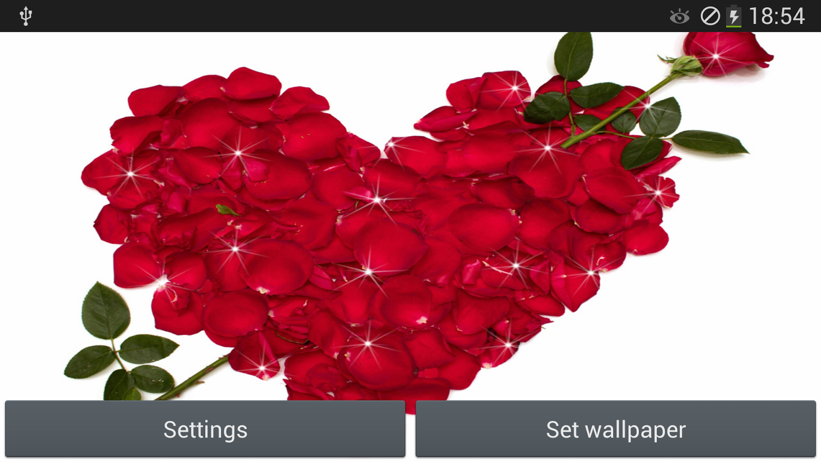 Wallpaper download karne wala apps - Rose Live Wallpaper Screenshot