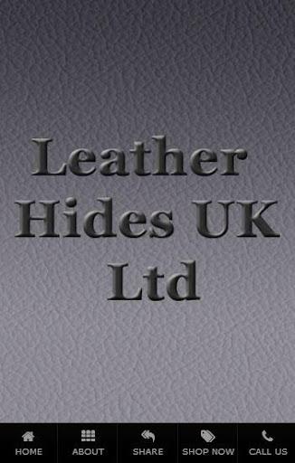LEATHER HIDES UK LTD