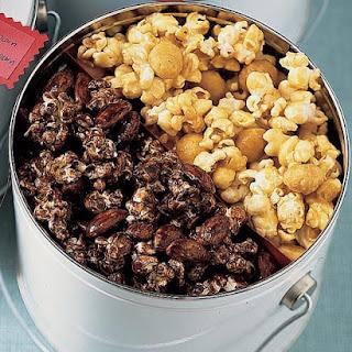 Chocolate-Almond Popcorn