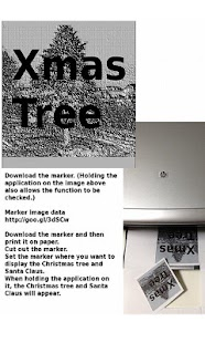 Christmas on your desk AR Free- screenshot thumbnail