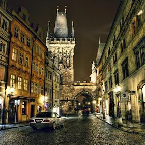 Mostecká ul., Malá Strana by Irena Brozova - City,  Street & Park  Historic Districts