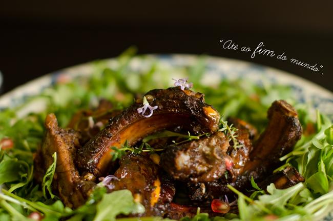 Pork Ribs with Pomegranate Recipe
