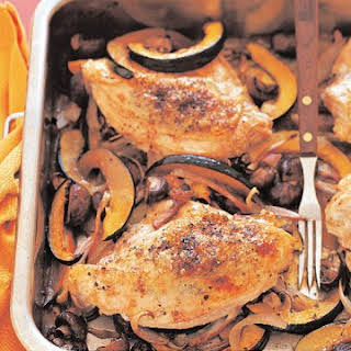 Roasted Chicken and Vegetables.