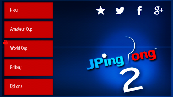 JPingPong Table Tennis 2 - screenshot thumbnail