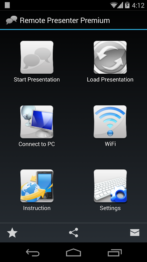 Remote Presenter - screenshot
