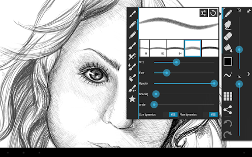 ArtFlow • Tablet Sketchbook - screenshot thumbnail