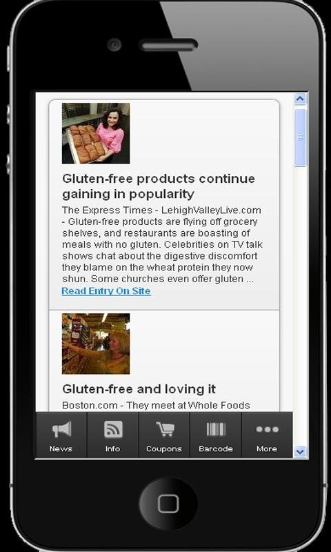 Why Gluten Free Living Works - screenshot