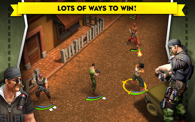 AntiSquad Tactics Premium - screenshot