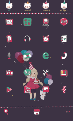 2014 dodol launcher theme - screenshot