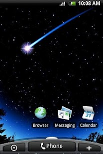 Meteor Slide Live Wallpaper - screenshot thumbnail