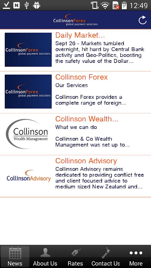 CollinsonFX - screenshot