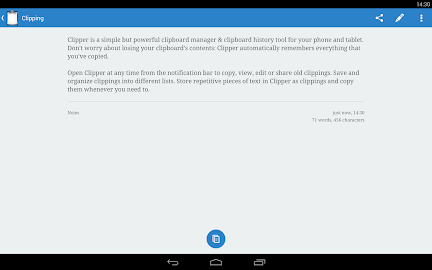 Clipper Plus with Sync Screenshot 3