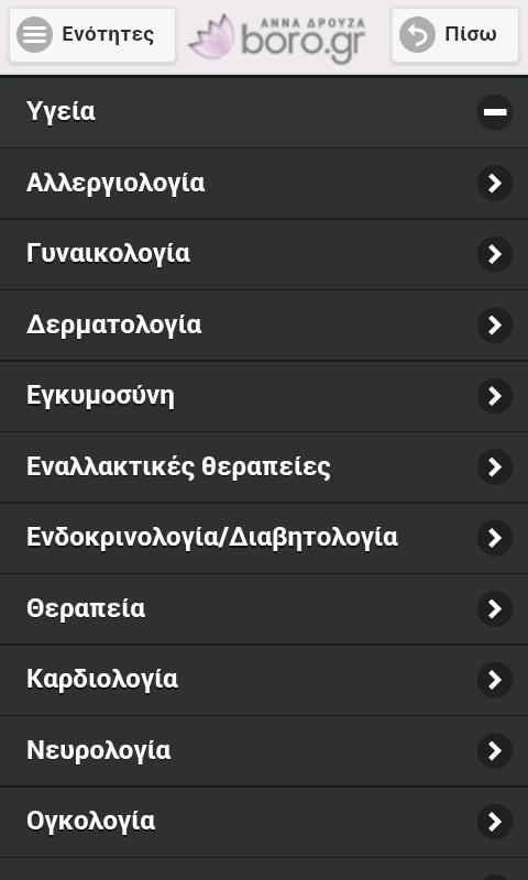 Boro.gr Άννα Δρούζα - screenshot