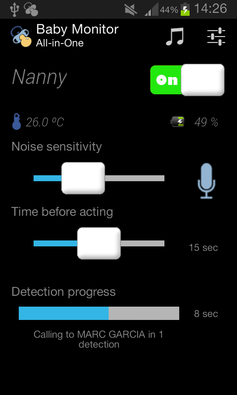 Baby Monitor All-In-One- screenshot