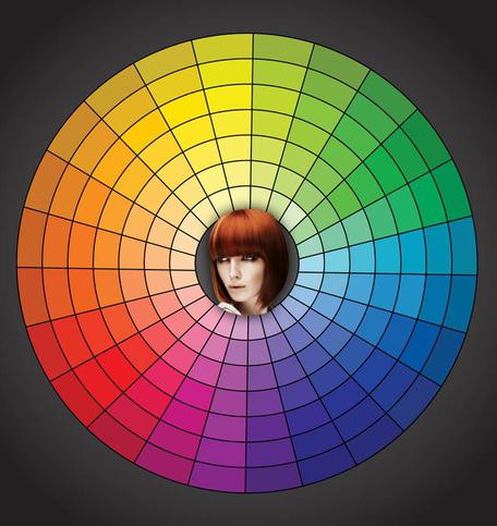 改變發色的照片