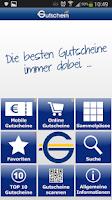 Screenshot of Gutschein.at