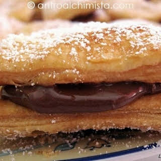 Puff Pastry Nutella Treats.