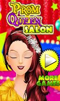 Screenshot of Prom Queen Salon Girls Games