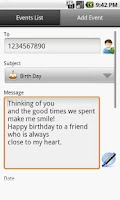 Screenshot of Auto SMS