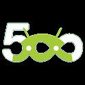 500px Land logo