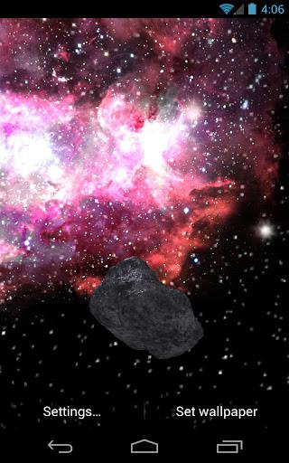 Asteroid Apophis vs Galaxy LWP