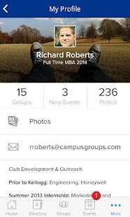 CampusGroups - screenshot thumbnail